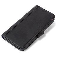 Decoded Leather Card Wallet Black iPhone XR - Pouzdro na mobilní telefon