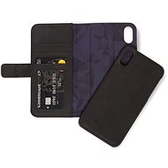 Decoded Leather 2in1 Wallet Black iPhone XS Max - Pouzdro na mobilní telefon