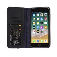 Decoded Leather Wallet Case Black iPhone 8 Plus/7 Plus/6s Plus