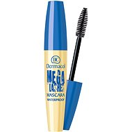 DERMACOL Mega Lashes Waterproof Mascara Black 12,5 ml - Řasenka