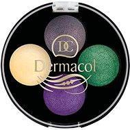DERMACOL Quattro Baked Eye Shadows No.8 4× 0,5 g - Oční stíny