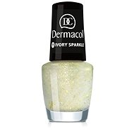 DERMACOL Nail Polish With Effect - Ivory Sparkle 5 ml - Lak na nehty