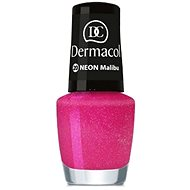 DERMACOL Neon Nail Polish Malibu č.20 - Lak na nehty
