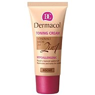 DERMACOL Toning Cream 2v1 - Biscuit 30 ml