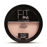 MAYBELLINE NEW YORK Fit Me Matte+Poreless 110 Fair Ivory 14 g - Pudr