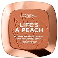 ĽORÉAL PARIS Wake Up & Glow Life's a Peach 9 g - Tvářenka