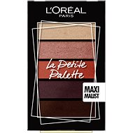 ĽORÉAL PARIS La Petite Palette Maximalist 5x 0,8 g - Paletka očních stínů