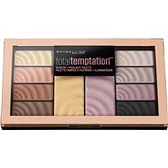 MAYBELLINE New York Total Temptation Shadow & Highlight Palette 12 g - Paletka očních stínů