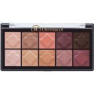 DERMACOL Eyeshadow palette Matt and Pearl No. 1 - Paletka očních stínů