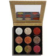 REVOLUTION Pressed Glitter Palette Midas Touch, třpytky - Paletka očních stínů