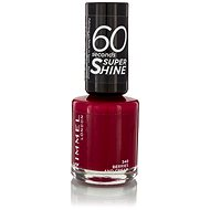 RIMMEL LONDON 60 Seconds Shine Nail Polish 340 Berries And Cream 8 ml