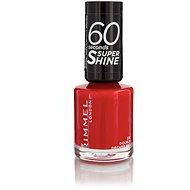 RIMMEL LONDON 60 Seconds Shine Nail Polish 310 Double Decker Red 8 ml