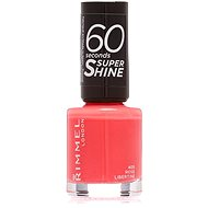 RIMMEL LONDON 60 Seconds Shine Nail Polish 405 Rose Libertine 8 ml - Lak na nehty