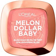 ĽORÉAL PARIS Wake up & Glow Melon Dollar Baby 9 g - Tvářenka