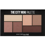 MAYBELLINE NEW YORK City Mini Palette 480 Matte About Town - Paletka očních stínů