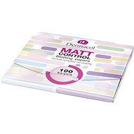 DERMACOL Matt Control Blotting Papers 100 ks - Matující ubrousky