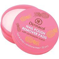 DERMACOL Nail Polish Remover Pads 32 ks