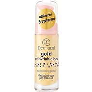 DERMACOL Gold Anti-Wrinkle Make-Up Base Rejuvenating Primer 20ml