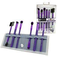 Moda® Beautiful Eyes Purple Brush Kit 7 ks - Sada kosmetických štětců