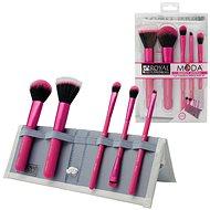 Moda® Perfect Mineral Pink Brush Kit 6 ks - Sada kosmetických štětců