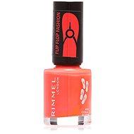 RIMMEL LONDON 60 Seconds Flip Flop Fashion 406 Coral Blush 8ml - Nail Polish