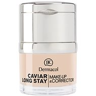 DERMACOL Caviar Long Stay Make-Up & Corrector No.0,0 Ivory 30 ml - Make-up