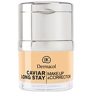 DERMACOL Caviar Long Stay Make-Up & Corrector No.0,5 Sand 30 ml