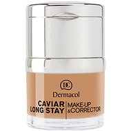 DERMACOL Caviar Long Stay Make-Up & Corrector No.5 Cappuccino 30 ml
