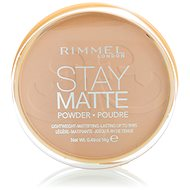 RIMMEL LONDON Stay Matte 005 Silky Beige 14 g - Pudr