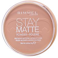 RIMMEL LONDON Stay Matte 006 Warm Beige 14 g - Pudr