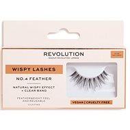 REVOLUTION No.4 Feather Wispy 1pcs - Adhesive False Eyelashes