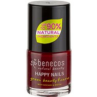 BENECOS Happy Nails Green Beauty & Care Cherry Red 5ml - Nail Polish