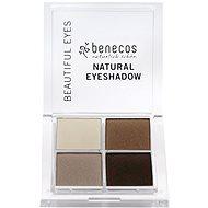 BENECOS BIO Eyeshadow Coffee & Cream 8 g - Paletka očních stínů