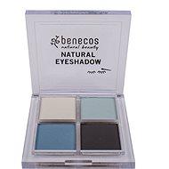 BENECOS BIO Eyeshadow True Blue 8 g - Paletka očních stínů