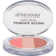 BENECOS BIO Natural Powder Blush Trio 5 g - Tvářenka