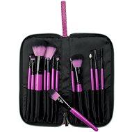 ROYAL & LANGNICKEL Pink Essentials™ Synthetic Travel Kit 13 pc - Sada kosmetických štětců