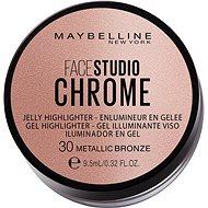 MAYBELLINE NEW YORK Face Studio Chrome Jelly Highlighter 30 Metallic Bronze 9,5 ml