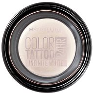 MAYBELLINE NEW YORK Color Tattoo Eye Shadow  45 Infinite white - Oční stíny