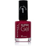 RIMMEL LONDON Super Gel by Kate 024 Red Ginger 12 ml - Lak na nehty