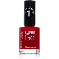 RIMMEL LONDON Super Gel by Kate 045 Flamenco Beach 12 ml - Lak na nehty