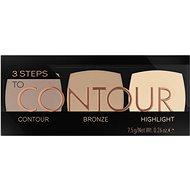 CATRICE 3 Steps To Contour Palette 010 7,5 g - Konturovací paletka
