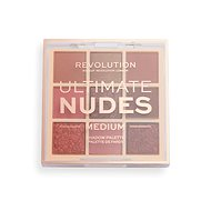 REVOLUTION Ultimate Nudes Shadow Palette Medium 0,9 g - Paletka očních stínů