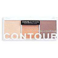 REVOLUTION Relove Colour Play Trio Bronze Sugar 6 g - Konturovací paletka