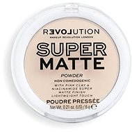 REVOLUTION Relove Super Matte Pressed Translucent 6 g