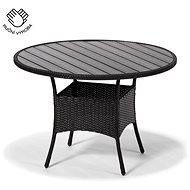 NEAPOL černý - Zahradní stůl