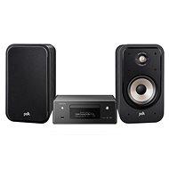 DENON CEOL RCD-N11 DAB Black + Polk Audio Signature S20e Black - Set