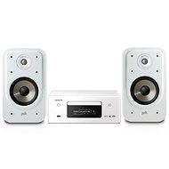 DENON CEOL RCD-N11 DAB White + Polk Audio Signature S20e White - Set