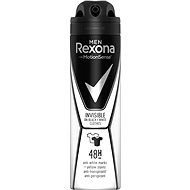Pánský antiperspirant REXONA MEN Invisible On Black+White Clothes 150 ml - Pánský antiperspirant