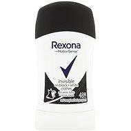 REXONA Invisible Black+White 40 ml - Dámský antiperspirant