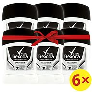 REXONA Men Invisible Black+White 6×50 ml